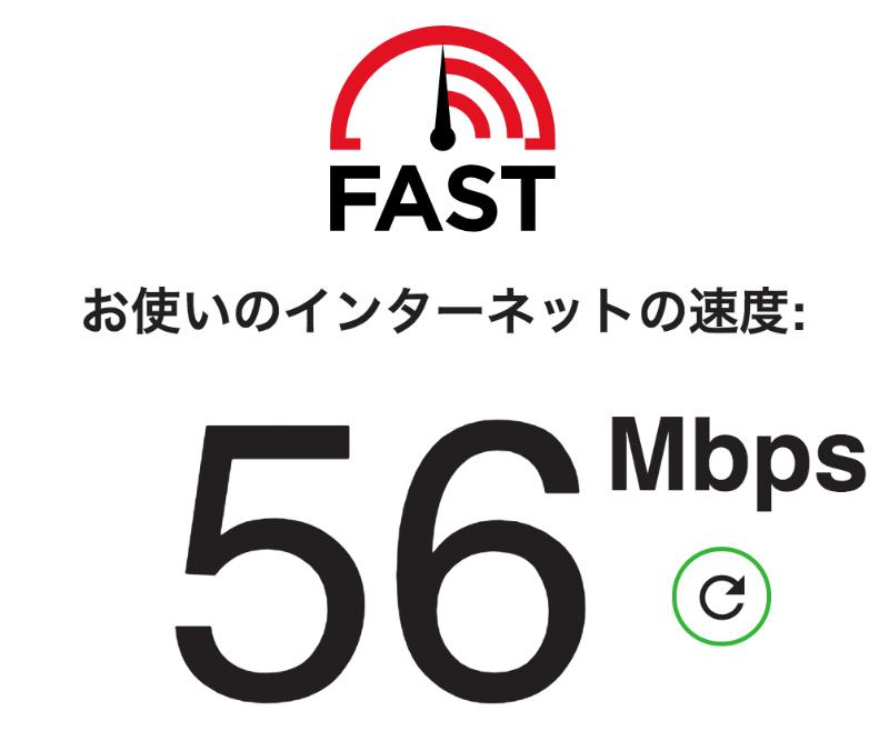 インターネットの速度は理論値と比例する