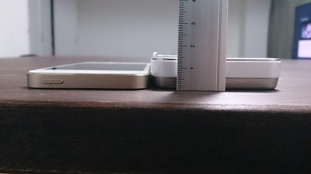 HWD15とiphone5sと比較